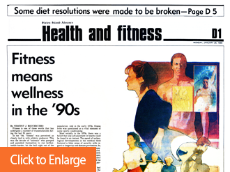 Fitness Means Wellness In the '90s